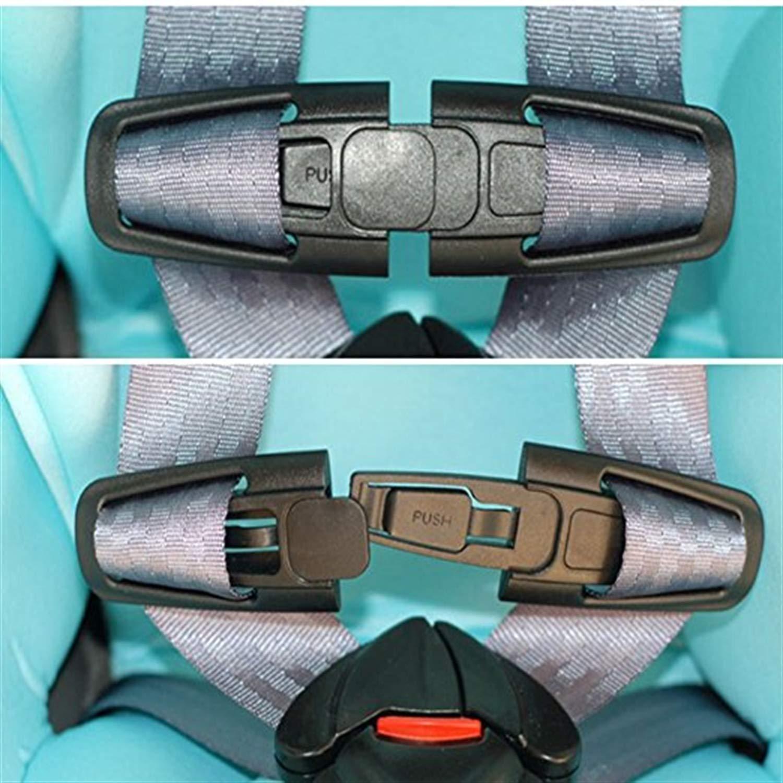2 piezas del asiento de coche pinzas para el cintur/ón cintur/ón de seguridad Cerraduras de clip clips de cintur/ón de seguridad ajustable Clip del cintur/ón de seguridad para el cintur/ón de segurida