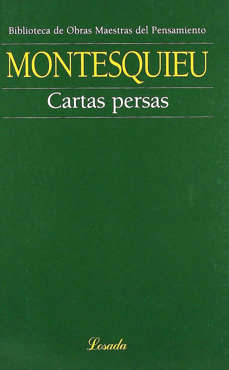 Cartas Persas (Obras Maestras Pensamiento): Amazon.es ...