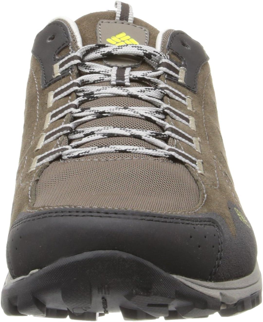 Columbia Conspiracy Razor Leather - Zapatillas de Senderismo de cuero hombre, Marrón (Braun (Mud, Chartreuse 255)), 40: Amazon.es: Zapatos y complementos