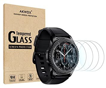 cf4acdd8c53 (4-Pack) Gear S3 Tempered Glass Screen Protector