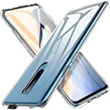 Case for Oneplus 7 pro, JS [Scratchproof] Lightweight Shockproof Protection Flexible with Standard Limit Drop Protection and Precision Cut-Off Phone Case for Oneplus 7 pro Smartphone (Clear)