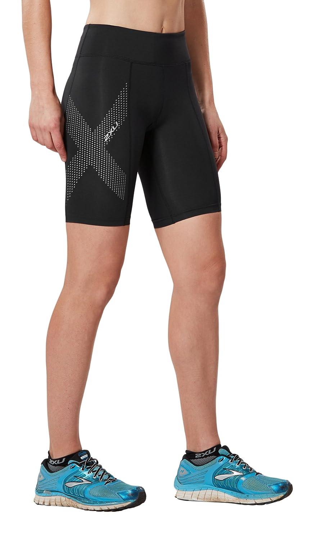 2XU Women's Mid-Rise Compression Shorts 2XU Pty Ltd WA3027b