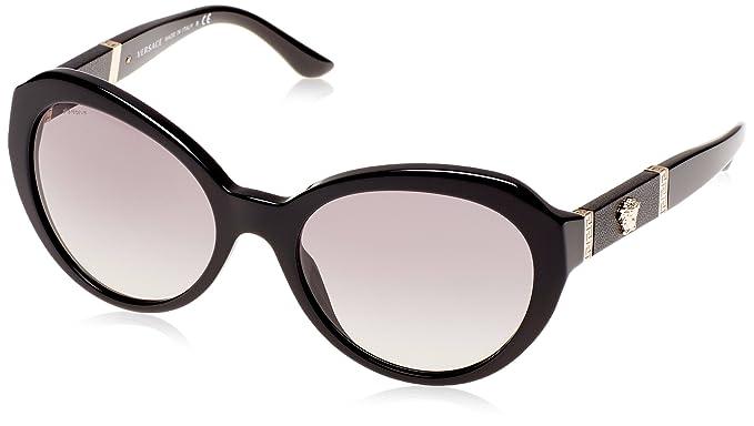 551a7fc04e9 Amazon.com  VERSACE VE4306Q - GB1 11 Sunglasses BLACK 56mm  Shoes