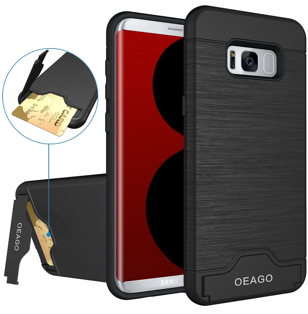 Designer Cases For S8 Plus Goospery Samsung Galaxy Canvas Diary Case Red Oeago Card Slot Brushed