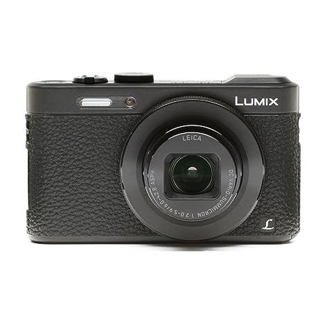Panasonic Lumis DMC-LF1 Camera Leather Decoration Sticker Leica2 type 4008  Black Made in Japan