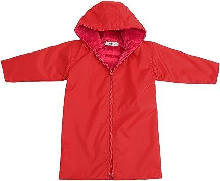 My Blankee Kids 10-12 Years Waterproof Hooded Rain Coat Blue