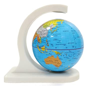 Buy Magnetic Rotating Globe Magic Globe World Map 6 Inch Magnet Powered Earth Planet Ball Rotating World Map For Kids Adult Learning Office Home Desk Decor World Map Earth Globe Showpiece Online