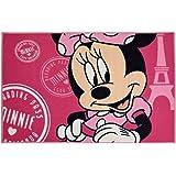 Fun House Disney Minnie Tapis pour Enfant, Polyamide/Sbr,/Latex et Caoutchouc, 120 x 80 x 0,5 cm