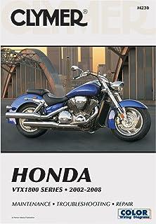 Honda vtx1300 series 2003 2009 clymer motorcycle repair penton clymer repairservice manual honda vtx1800 02 08 fandeluxe Images