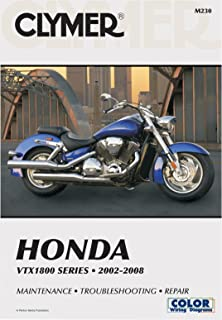 amazon com clymer repair service manual honda vtx1300 03 09 automotive rh amazon com 2007 Honda VTX 1800C 2007 Honda VTX 1300R