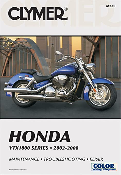 amazon com clymer repair service manual honda vtx1800 02 08 rh amazon com