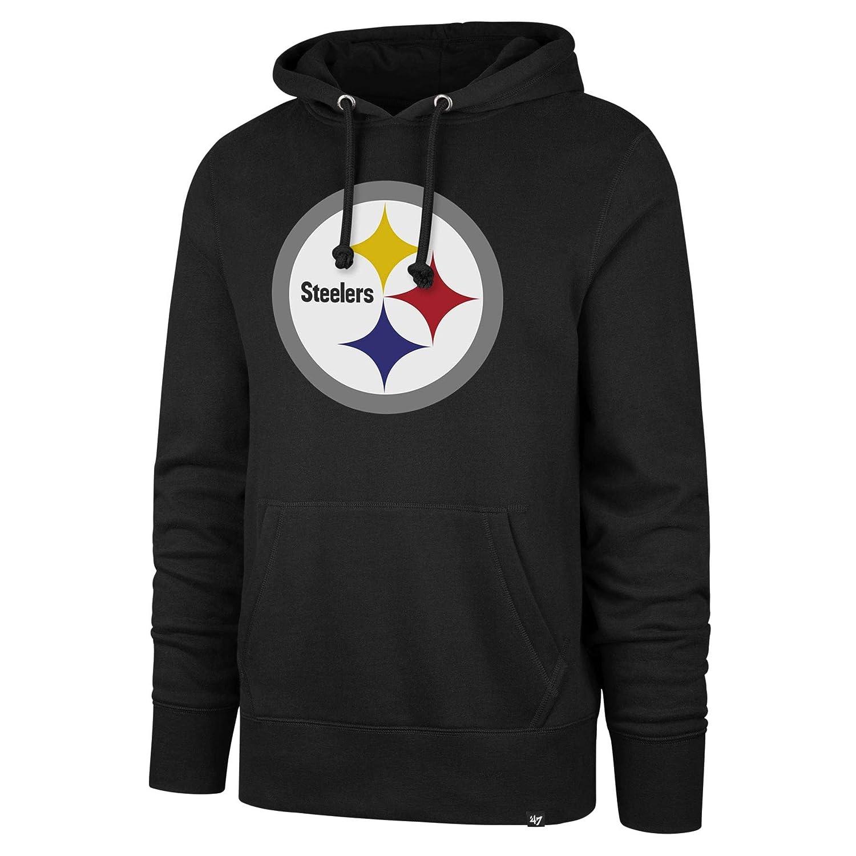 brand new c5df2 c2210 '47 Pittsburgh Steelers NFL Imprint Headline Hoodie