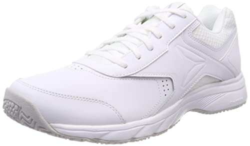 Reebok Work N Cushion 3.0, Zapatillas de Marcha Nórdica para Mujer, Blanco (White/Steel 0), 38 EU