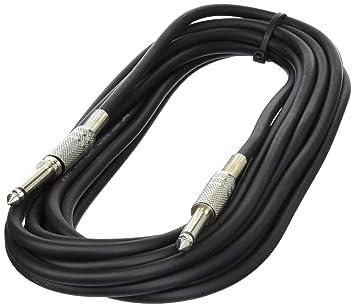 Audio- Instrumentenkabel 6 Meter - Klinke / Klinke: Amazon.de ...