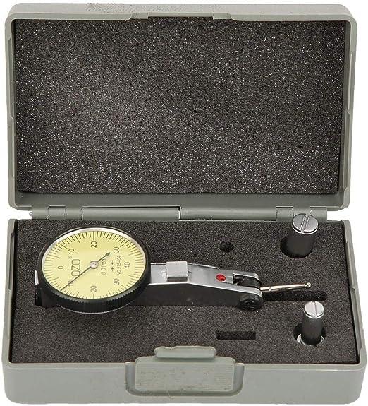 Precision 0.01mm Lever Dial Test Indicator Meter Tool Kit Gage 0-0.8mm Range