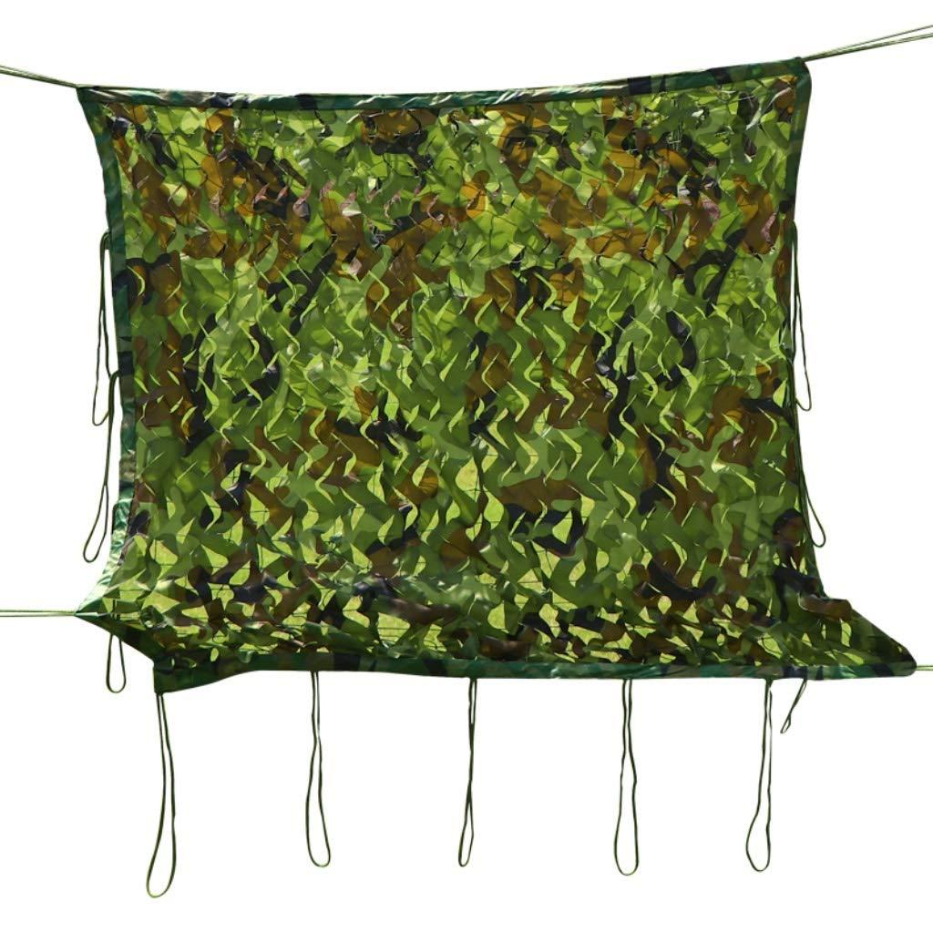 迷彩ネット、屋外対空ネットワークパティオグリーン植物シェーディングネット装飾ネットジャングル日焼け止めメッシュ (サイズ さいず : 6x8m) 6x8m  B07Q6RYGDF