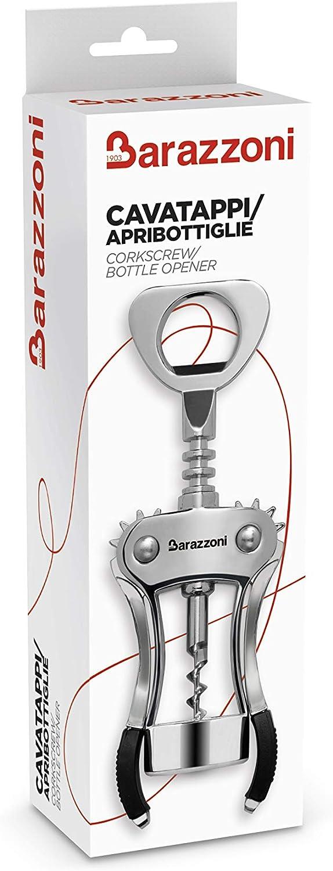 Acciaio Inox My Utensil Barazzoni 8640020500 Cavatappi//Apribottiglie