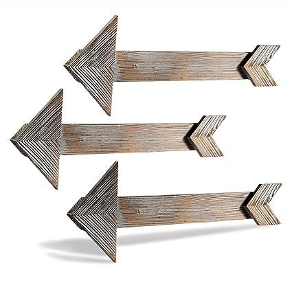 CALIFORNIA CADE ELECTRONIC Rustic Wall Decor Farmhouse Decor Home Decor  Arrow Barnwood Decorative Arrows