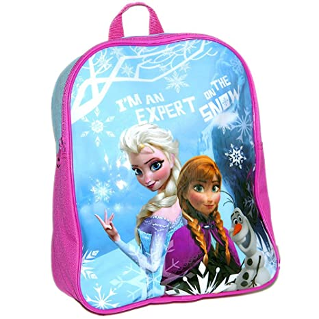 2c86b55009e Disney® Frozen Official Kids Children Girls School Travel Rucksack Backpack  Bag - Elsa Anna and Olaf  Amazon.co.uk  Toys   Games