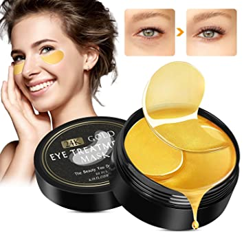 Máscara para los ojos, Winpok Parches para los ojos, Ojos Parches, Máscara Para Ojos de Colágeno, Máscaras antiarrugas para los ojos, Reduce las ...