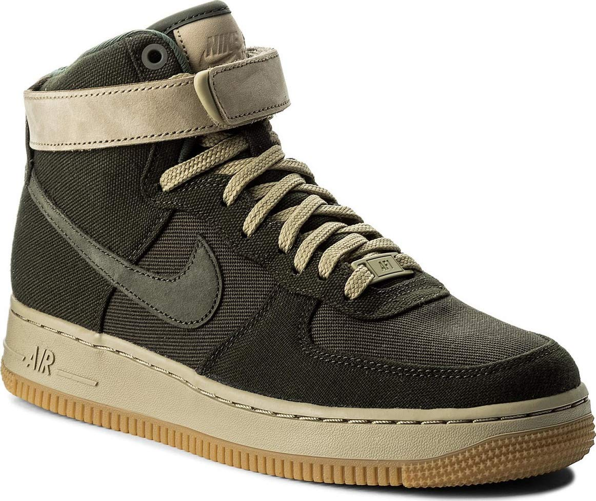 separation shoes ab3f6 dde70 Galleon - NIKE Women s WMNS Air Force 1 HI UT, Sequoia Sequoia-Neutral Olive,  6 M US
