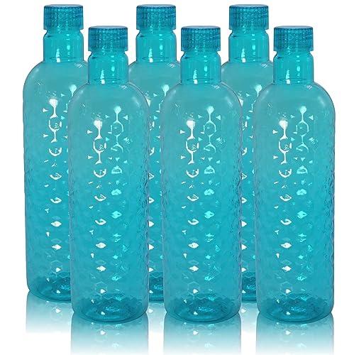 Wonder Hammer Fridge Bottle Set, Blue Color, Set of 6 Bottles, Made in India, KBS00060