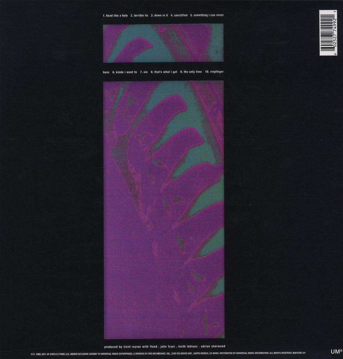 Nine Inch Nails - Pretty Hate Machine [LP] - Amazon.com Music
