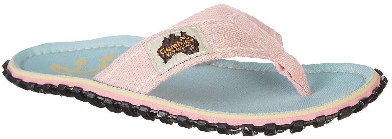 Gumbies Damen Zehentrenner - Rosa/Blau Schuhe in Uuml;bergrouml;szlig;en  37 EU|Gecko