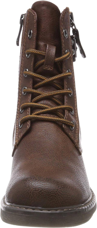 MARCO TOZZI Damen 25279-21 Combat Boots Braun Cognac Antic 310