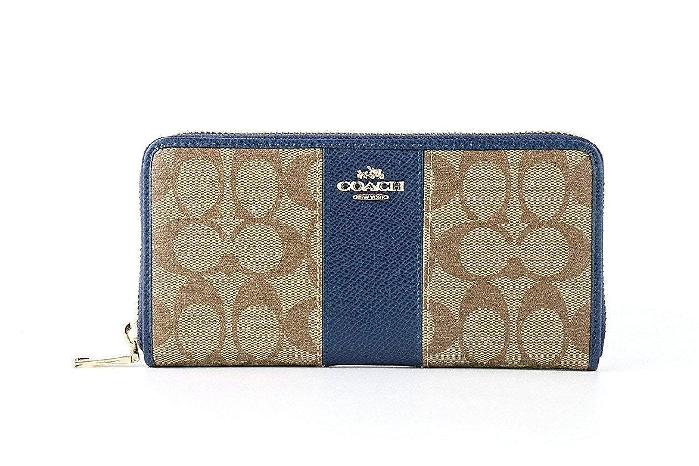 899d2b0a6135 Amazon   [コーチ] COACH 財布(長財布) F52859 / BLUE レディース財布 [アウトレット品] [並行輸入品]   財布