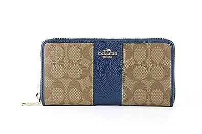 124dc91ad3cd Amazon | [コーチ] COACH 財布(長財布) F52859 / BLUE レディース財布 ...