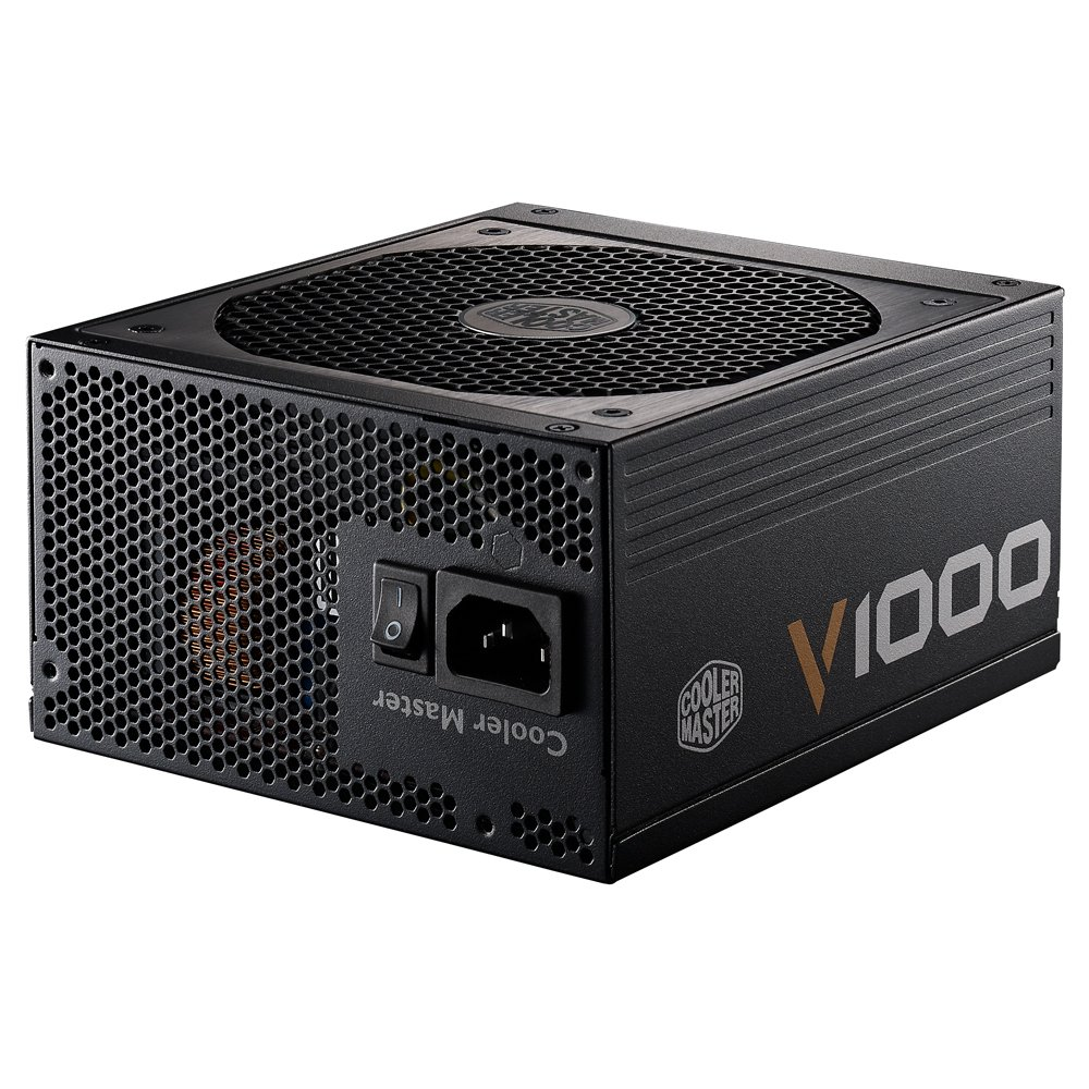 Cooler Master V1000 - Fully Modular 1000W 80 PLUS Gold PSU with Silencio Silent 135mm fan (6th Generation Skylake Ready) by Cooler Master (Image #5)