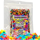 SooperBeads Water Beads 2 Oz Rainbow Mix 4000 Non-Toxic Water Growing Sensory Beads Toy for Kids Fine Motor Skills Development, Tactile Play, Spa Refill, DIY Stress Ball, Home Décor