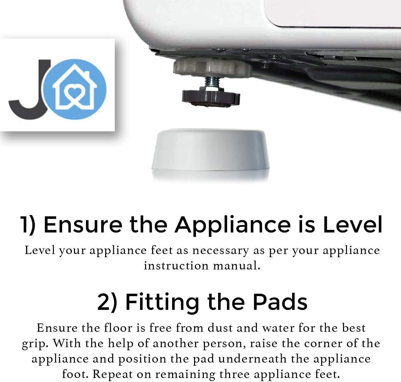 Amazon.com: Almohadillas de goma antivibración para ...