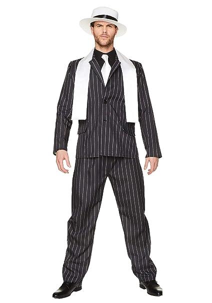 Karnival Costumes Traje de Jefe de la Mafia, Disfraz para Adultos Tipo Gangster de los años 20´