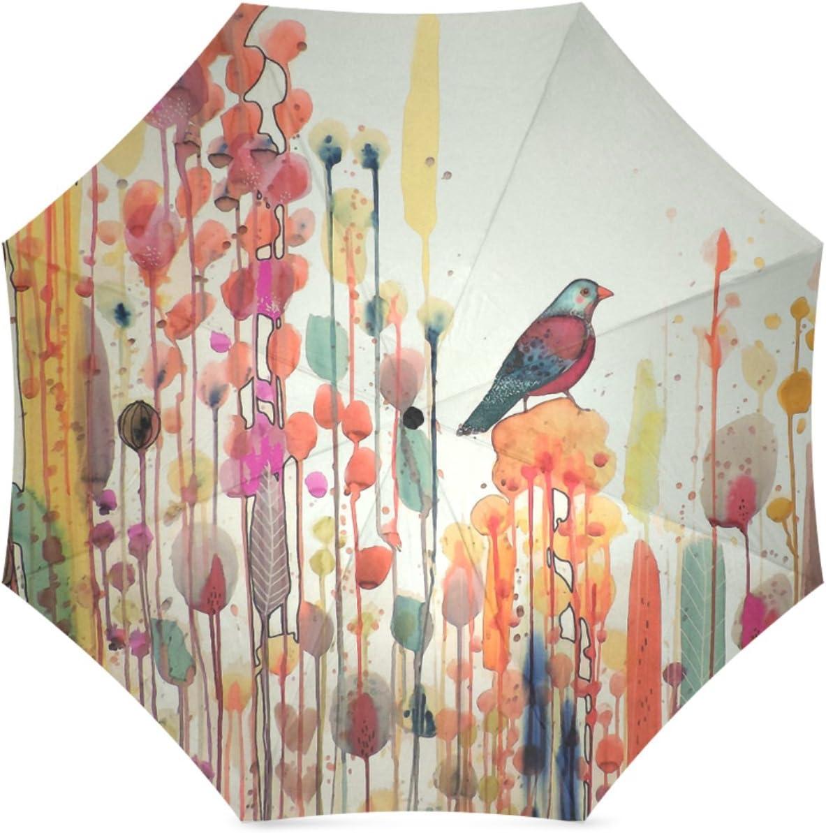 Personalized Joie De Vivre Foldable Raining Umbrella