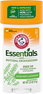 product image for Arm & Hammer Essentials Deodorant with Natural Deodorizers, Wide Stick, Fresh 2.5 oz.(pack of 6)