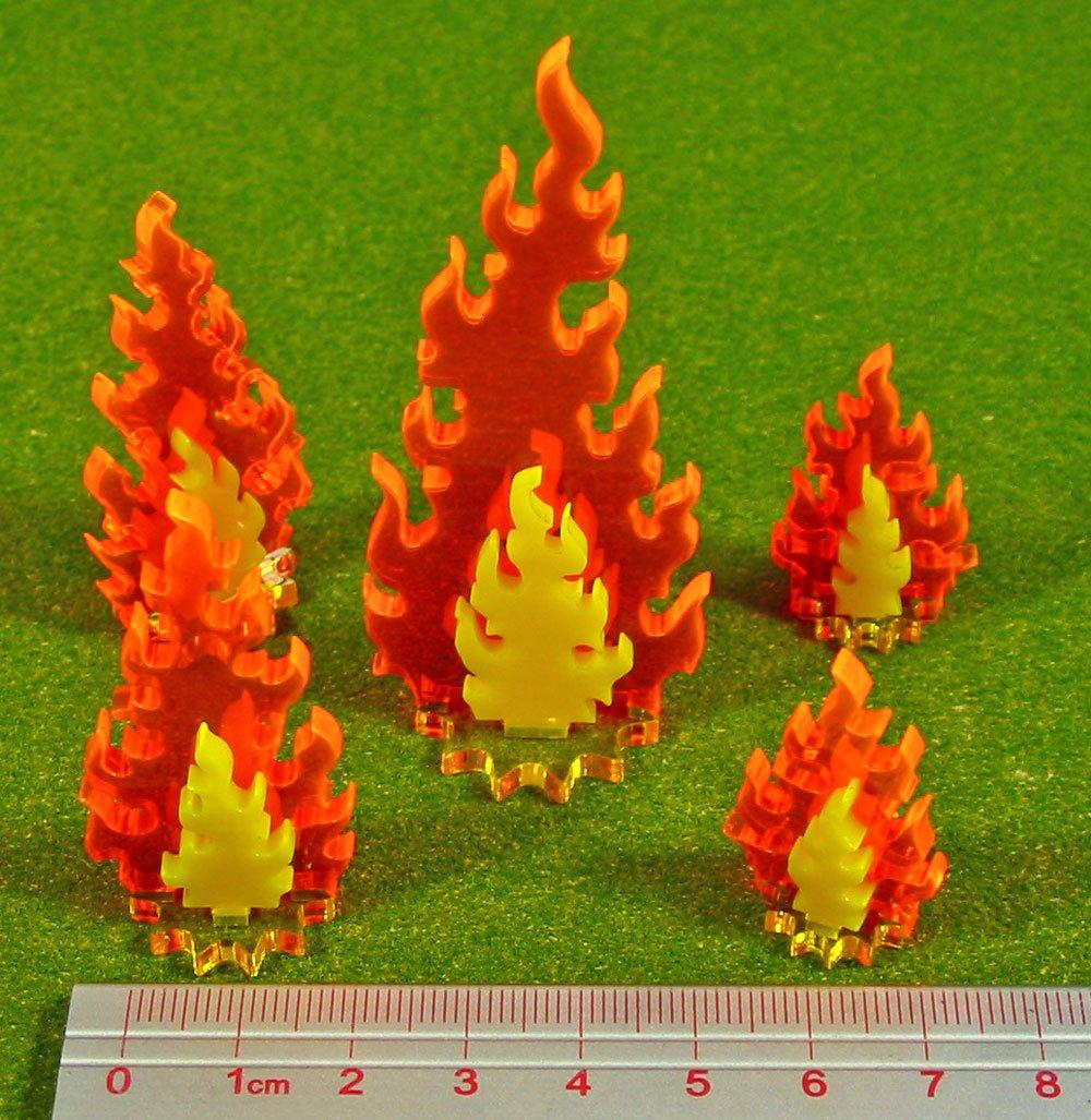Litko Game Accessories Inferno Marker Set, Variety (5)
