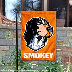 College Flags and Banners Co. Tennessee Volunteers Smokey X Garden Flag