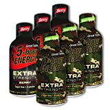 5 Hour Energy, 3 Extra Strength Berry + 3 Extra Strength Sour Apple, 6 Count