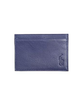 Polo ralph lauren business card holder men blue leather polo ralph lauren business card holder men blue leather cardholder tu reheart Images