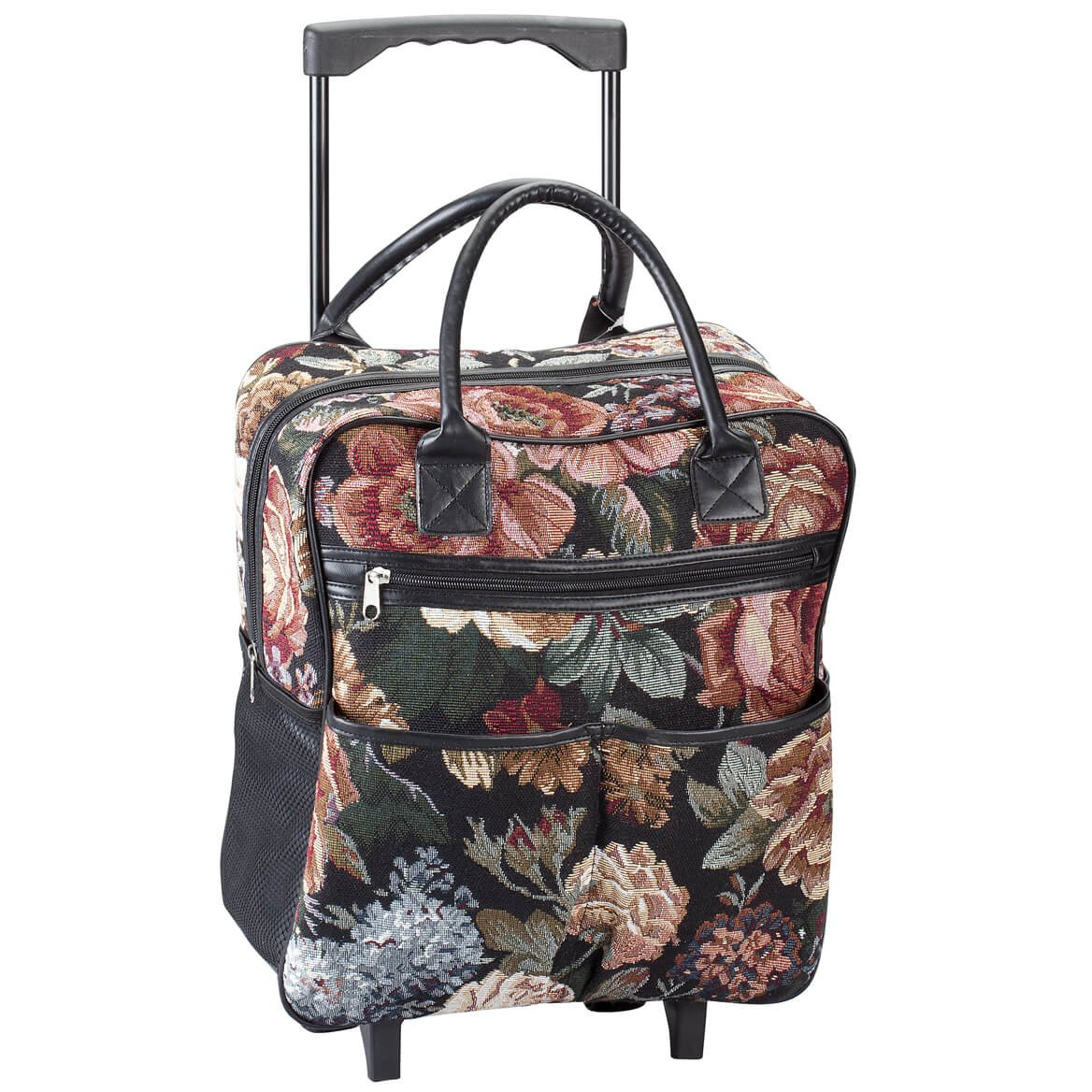 354b84937186 Rose Tapestry Rolling Tote