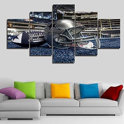 Amazon.com: Large NFL Sports Painting Dallas Cowboys Canvas Prints ...
