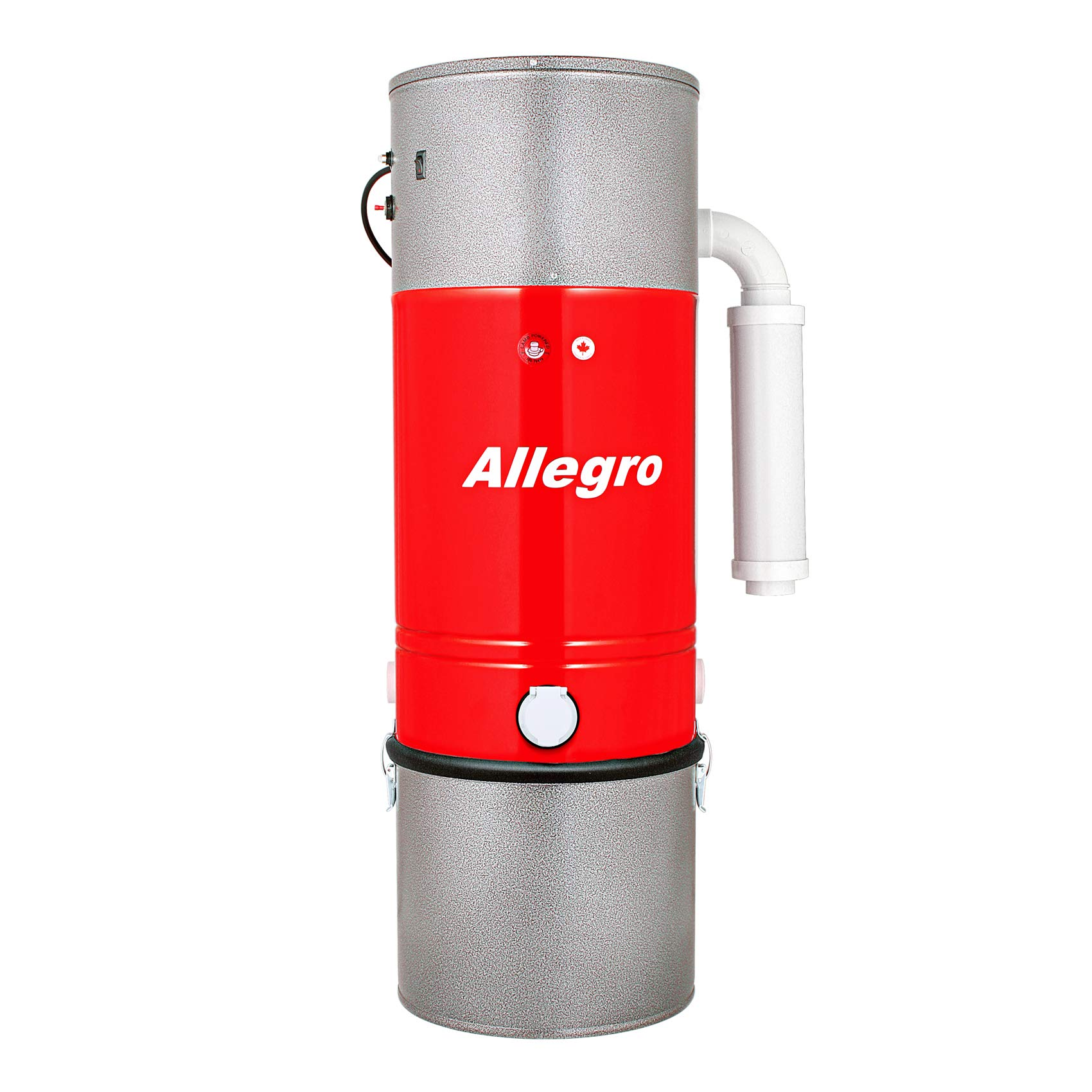 Allegro MUA75 Zenith 15,000 Square Feet Central Vacuum Power Unit