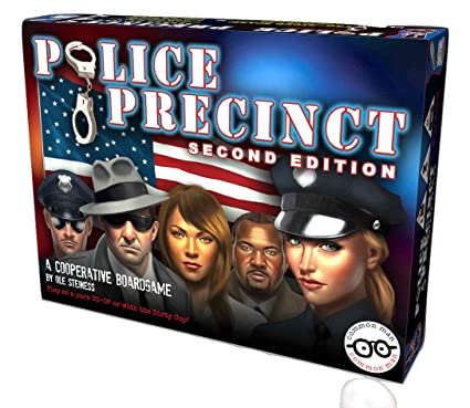 a crime based police coop game for group play