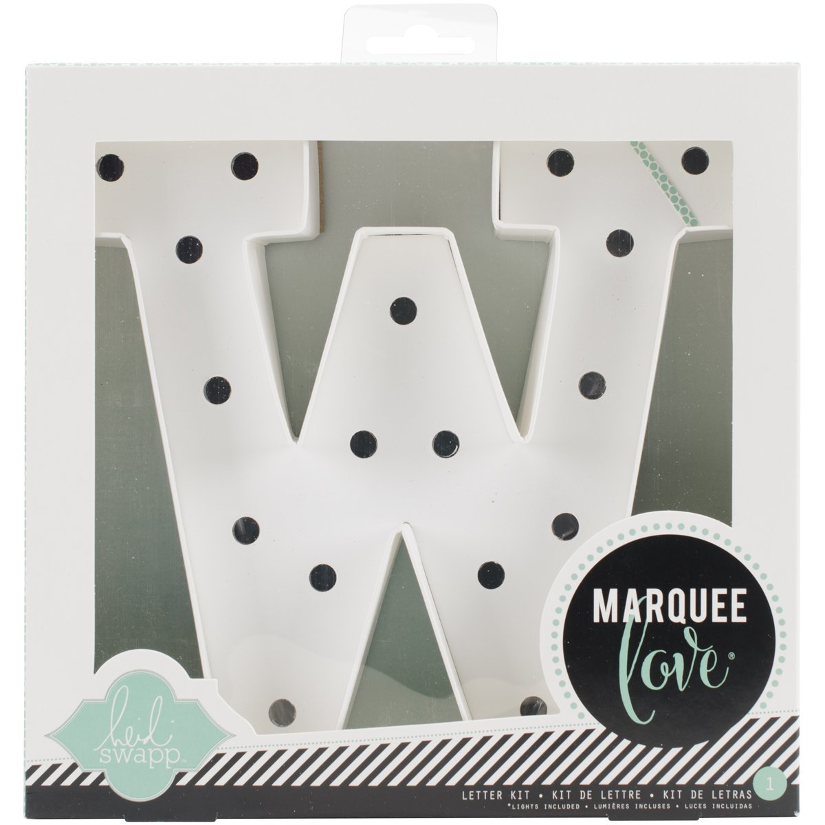 American Crafts 369102 Letter Kit W