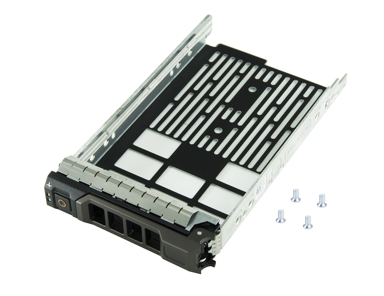 HIGHFINE 3.5'' F238F SAS SATA SATAu Hard Drive Caddy Tray Enclosure for DELL PowerEdge R310 R320 R410 R415 R510 R515 R610 R710 T610 T710 Compatible Part Number: 0F238F F238F X968D 0X968D G302D 0G302D
