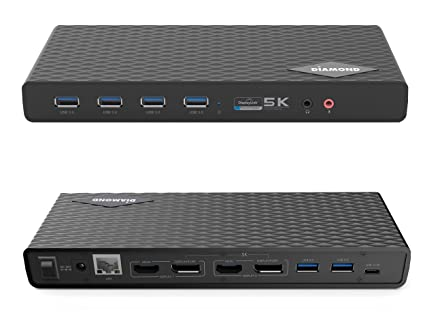 Amazon.com: Diamond DS6950 Ultra Dock 5K/4K USB Type-C, Type-A