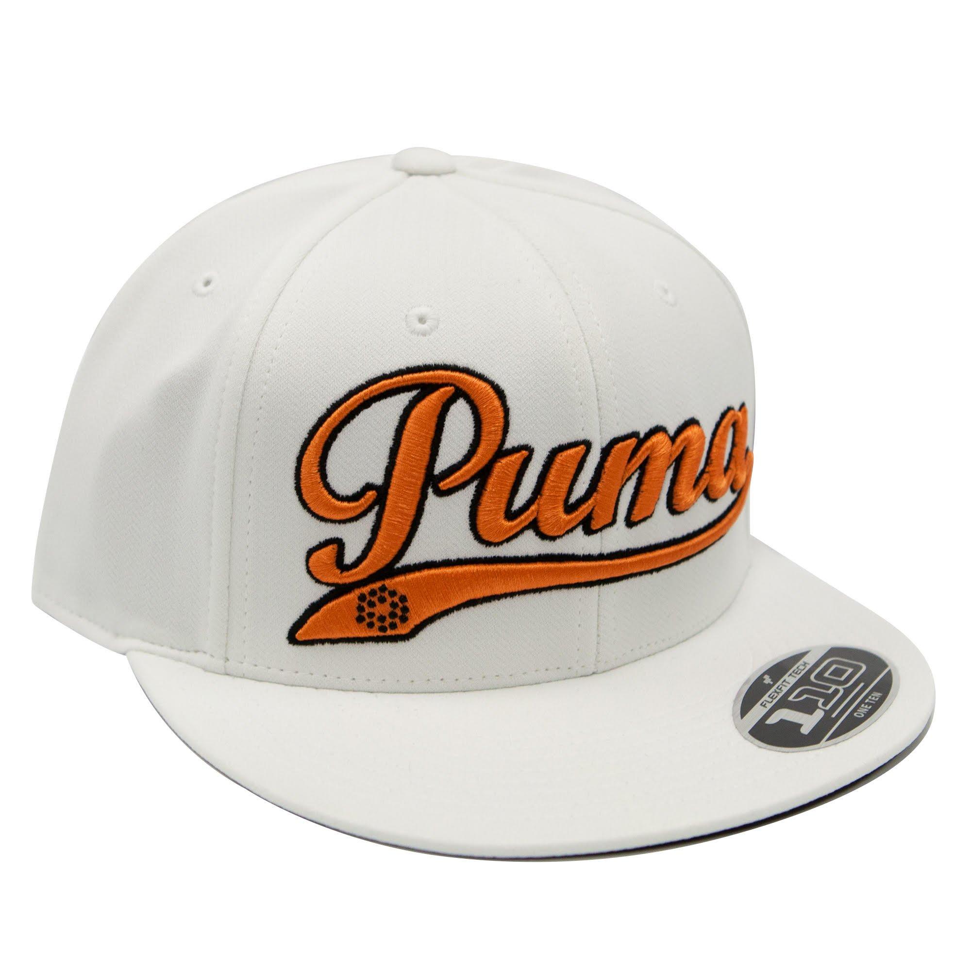 08c75b9ef1d0d Puma Logo Script Cool Cell Snapback Cap - WHITE - PMGO2117-WHT ...