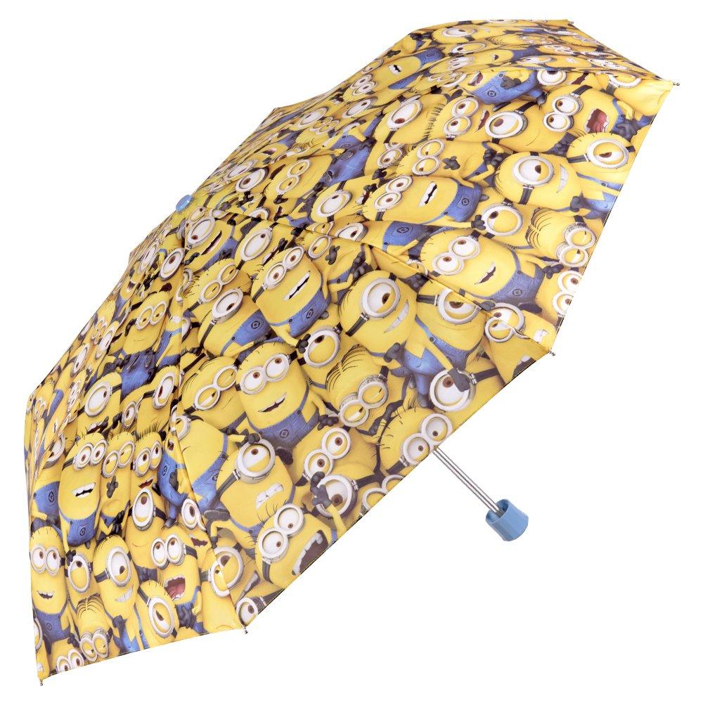 Perletti - Mini Parapluie Les Minions de Moi, Moche méchant Petit garçon - Ouverture Manuelle perletti75062